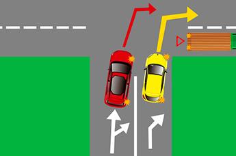 Как правильно выполнять поворот на перекрестке