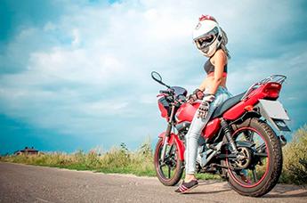 Как проходит сдача экзамена на мотоцикле
